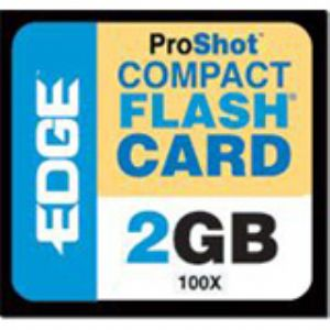 EDGE Tech 2GB ProShot CompactFlash Card - 100x