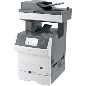 Lexmark X748DTE Laser Multifunction Printer - Colo