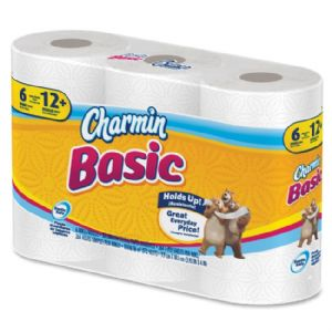 Charmin® Basic One-Ply Toilet Paper