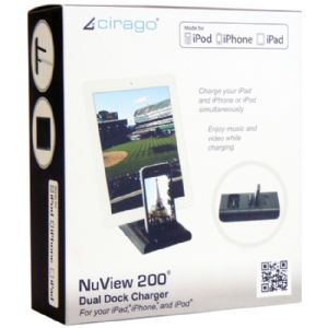 Cirago NuView 200 Dual Dock Charger