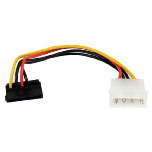 StarTech.com 6in 4 Pin Molex to Right Angle SATA P