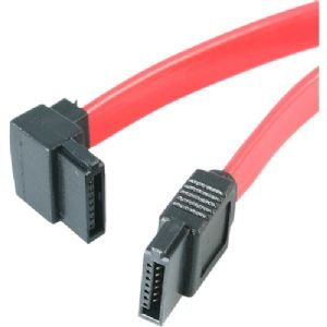 StarTech.com 18in SATA to Left Angle SATA Serial A