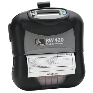Zebra RW420 Direct Thermal Printer - Monochrome -