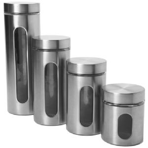 Anchor 4 Pc. Palladian Brushed S/S Window Cylinder