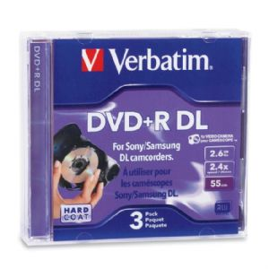 Verbatim 95313 DVD Recordable Media - DVD+R DL - 2