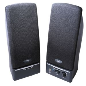 Cyber Acoustics CA-2012RB 2.0 Speaker System - 4 W
