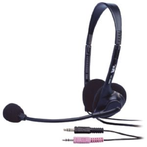 Cyber Acoustics AC-200b Stereo Headset