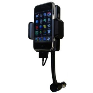 Premiertek FM Transmitter/Charger/Holder