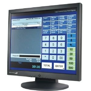 "Logic Controls LE1017 17"" LCD Touchscreen Monitor"