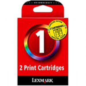 Lexmark No. 01 Ink Cartridge - Black