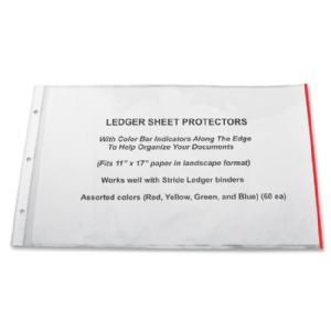 Stride Semi-clear Sheet Protectors