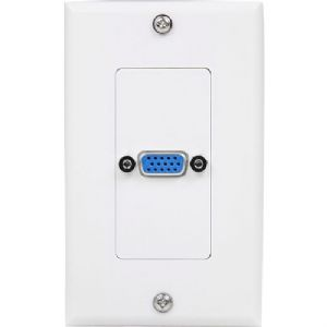 StarTech.com Single Outlet 15-Pin Female VGA Wall