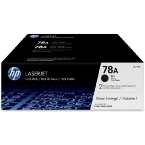 HP 78A 2-pack Black Original LaserJet Toner Cartri