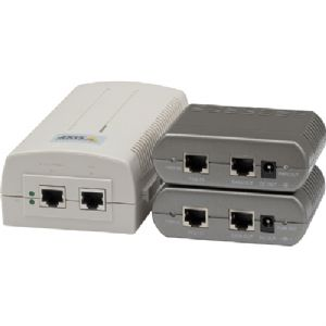 Axis T8124 1-port High Power over Ethernet Injecto