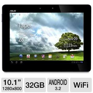 "ASUS 10.1"" Tegra 3 32GB Refurb. Tablet"