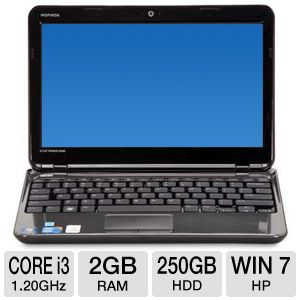 "Dell 11.6"" 250GB HDD Notebook"