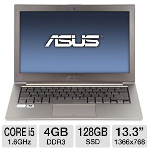 "ASUS 13.3"" Core i5 128GB SSD Ultrabook"