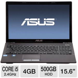 ASUS Core i5 500GB HDD Laptop