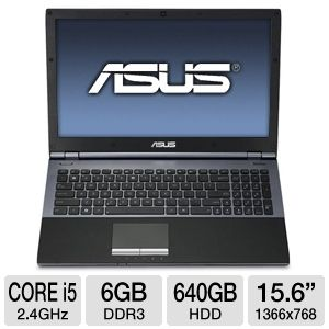 ASUS Core i5 640GB 15.6&quot; Refurbished Notebook PC