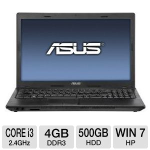 "ASUS X54C 15.6"" Core i3 500GB Notebook"