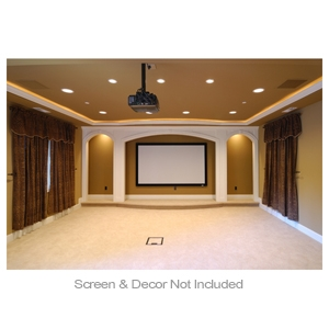 Selectech Comm. Projector Screen Instalaltion