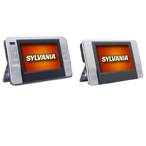"Sylvania SDVD8727 7"" Dual Screen DVD Player Refurb"