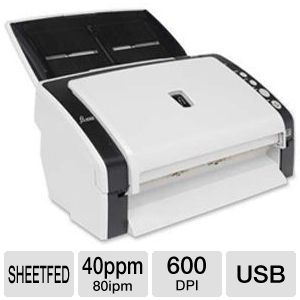 Fujitsu FI-6130Z Sheet-Fed Scanner 40 ppm / 80 ipm