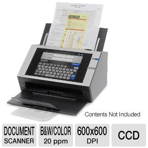 Fujitsu ScanSnap N1800 Network Document Scanner