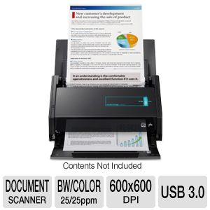 Fujitsu ScanSnap iX500 Deluxe Bundle - document