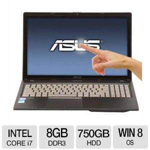 Asus Q500A Notebook - Core i7, 8GB, 15.6""