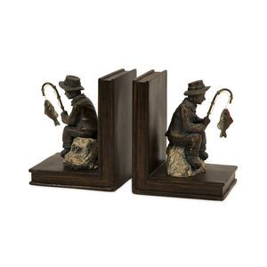 IMAX Worldwide Fisherman Bookends