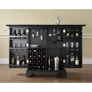 Crosley Furniture Bar Cabinet in
