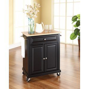 Crosley Furniture Portable Kitchen Cart/Island in