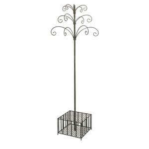 IMAX Worldwide Garden Stake and Wind Chime Display