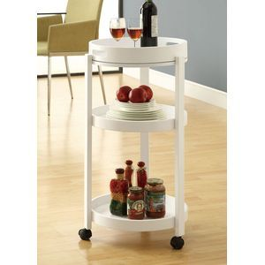 Monarch SpecialtiesTea Cart w/ Serving Tray in