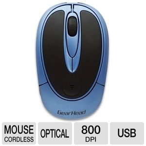 Gear Head Wireless Optical Mouse