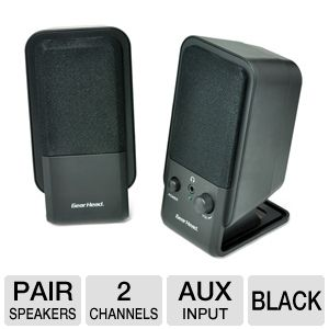 Gear Head SP2600ACB Desktop Speaker System