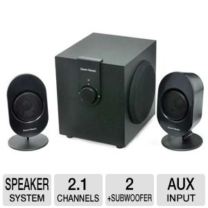 Gear Head SP3500ACB Powered Studio Speaker System