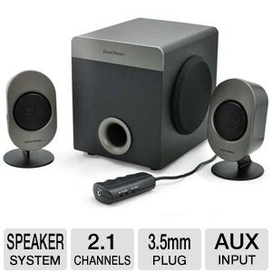 Gear Head SP3750ACB Studio Pro Speaker System