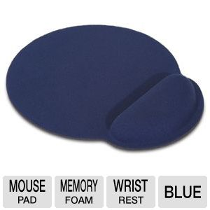 GearHead MPWR4100BLU Mouse Pad with Wrist Rest