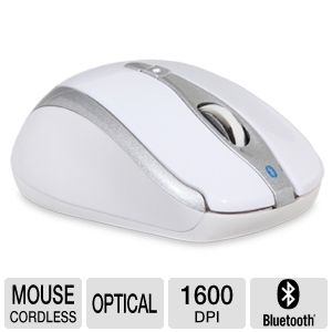 Gear Head BT9400WHT Wireless Optical Mouse