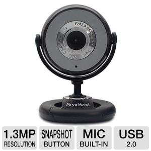 Gear Head WC740i Quick WebCam 