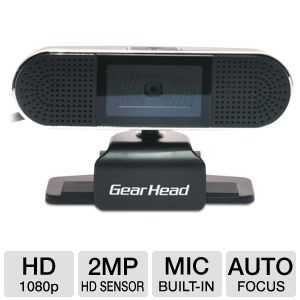 Gear Head HD 1080p Webcam