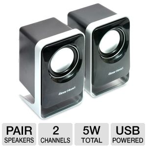 Gear Head SP1500USB 2.0 Computer Speakers