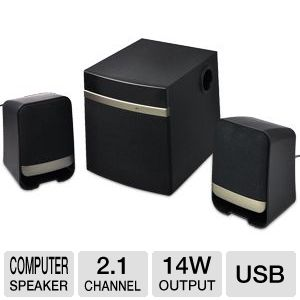 Gear Head SP3250USB-CP4 Home/Office Speakers