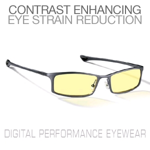 Gunnar Phenom Graphite Digital Performance Eyewear-