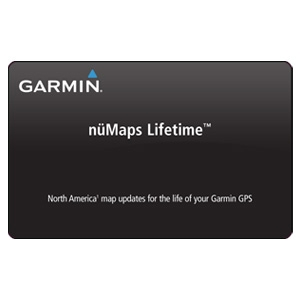 Garmin nuMaps Lifetime Map Update Card - N America