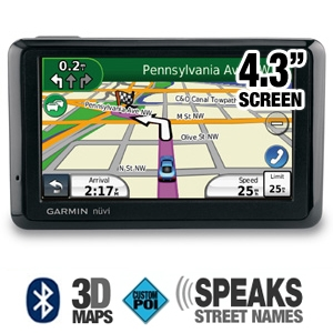 Garmin Nuvi 1390T Auto GPS (Refurbished)