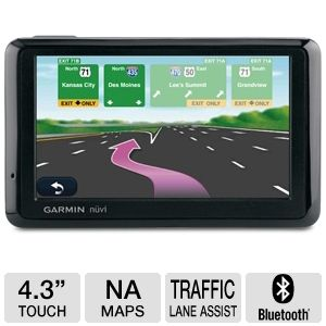 Garmin Nuvi 1390T 4.3&quot; Text-To-Speech GPS