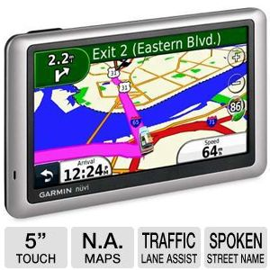 Garmin Nuvi 1450LM Auto GPS with Lifetime Maps